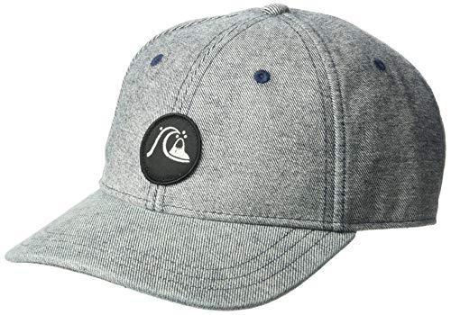(Quiksilver Men's WASHERS Trucker HAT, Stone wash, 1SZ)