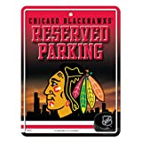 NHL Metal Parking Sign