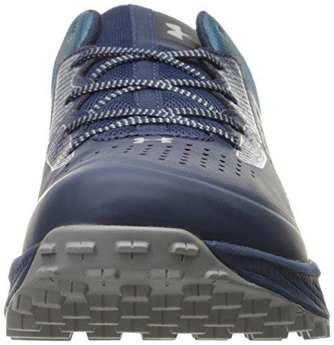 Under Armour Men's Ua Horizon Stc Low Rise Hiking Shoes, Blackout Navy/Gray Matter, M US Blue (Academy)