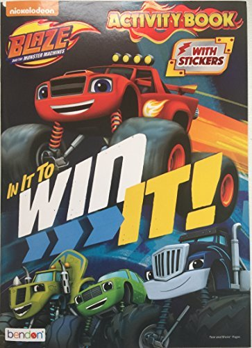 Blaze and the Monster Machines In It To Win It Coloring and Activity Book - Includes Over 30 - Blaze Usa
