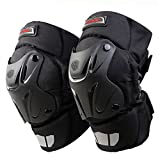 CRAZY AL'S CAK Motorcycle Motocross Racing Knee Guards Pads Braces Protective Gear Black