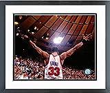 Patrick Ewing New York Knicks NBA Action Photo (Size: 12.5'' x 15.5'') Framed