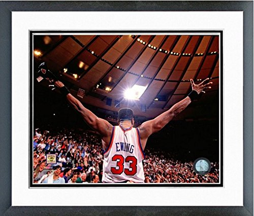 Patrick Ewing New York Knicks NBA Action Photo (Size: 12.5'' x 15.5'') Framed by NBA