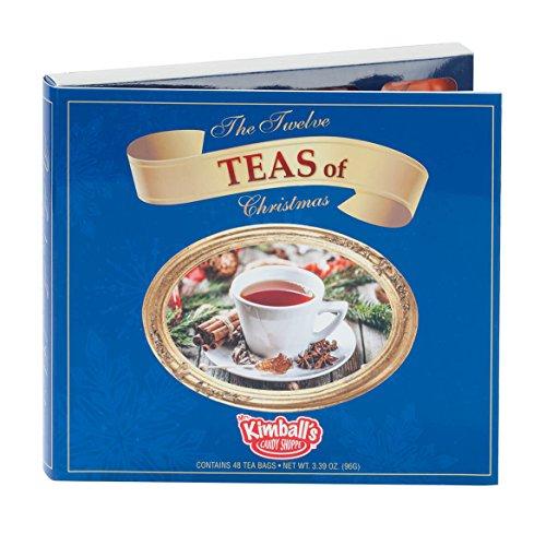 Ashbys Tea The Twelve Teas of Christmas, 3.39 Ounce