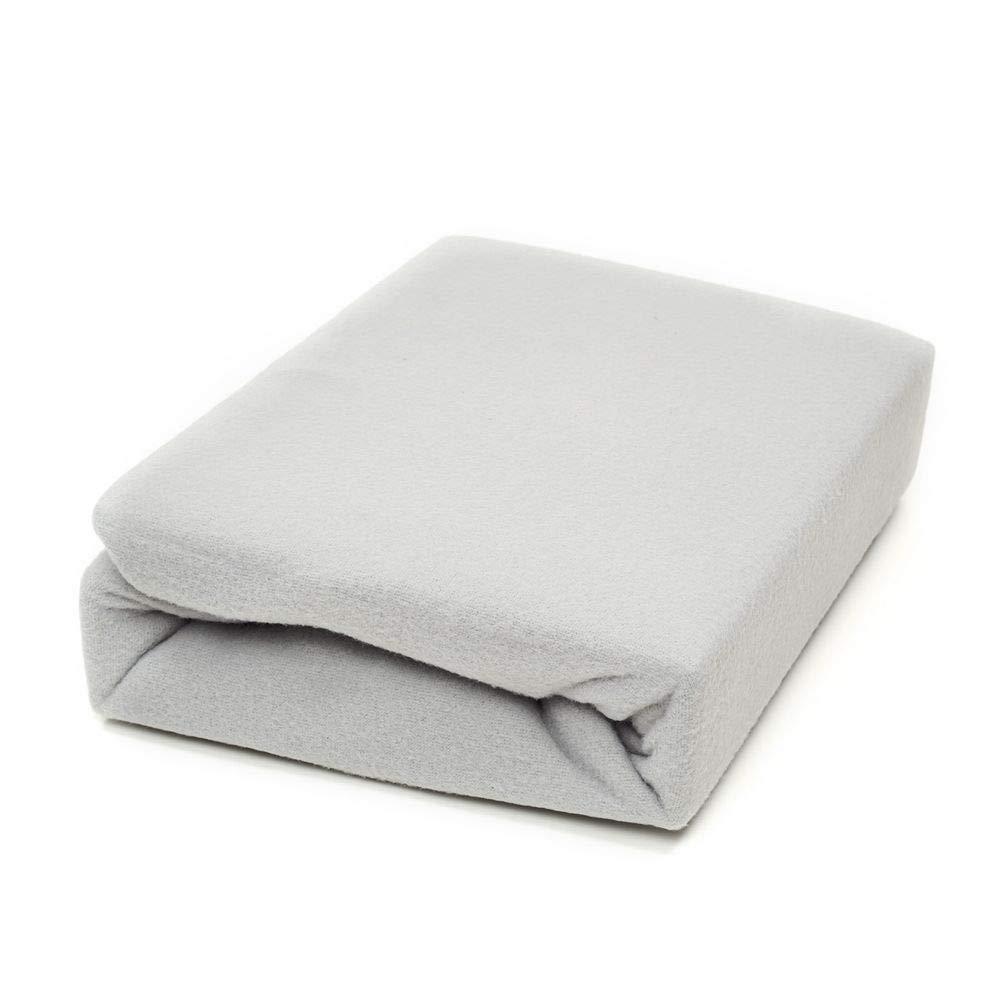 Größe:90x200-100x200 cm Designe:Taupe Dreamhome24 MALIKA Warme Winter Fleece Spannbettlaken Spannlaken Spannbetttuch Anthrazite Taupe Weiß Schwarz