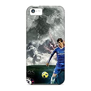 Anti-scratch Case Cover FashionE-Space Protective Famous Football Club Of London Chelsea Case For Iphone 5c