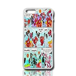 carcasa funda para movil compatible con iphone 4 4g 4s comics revista dibujos color