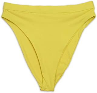 product image for Dippin' Daisy's Seamless Cheeky Coverage Hi-Waist Banded Bikini Bottom