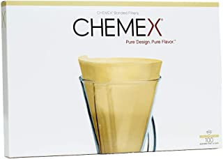 product image for CHEMEX Bonded Filter - Natural Half Moon - 100 ct