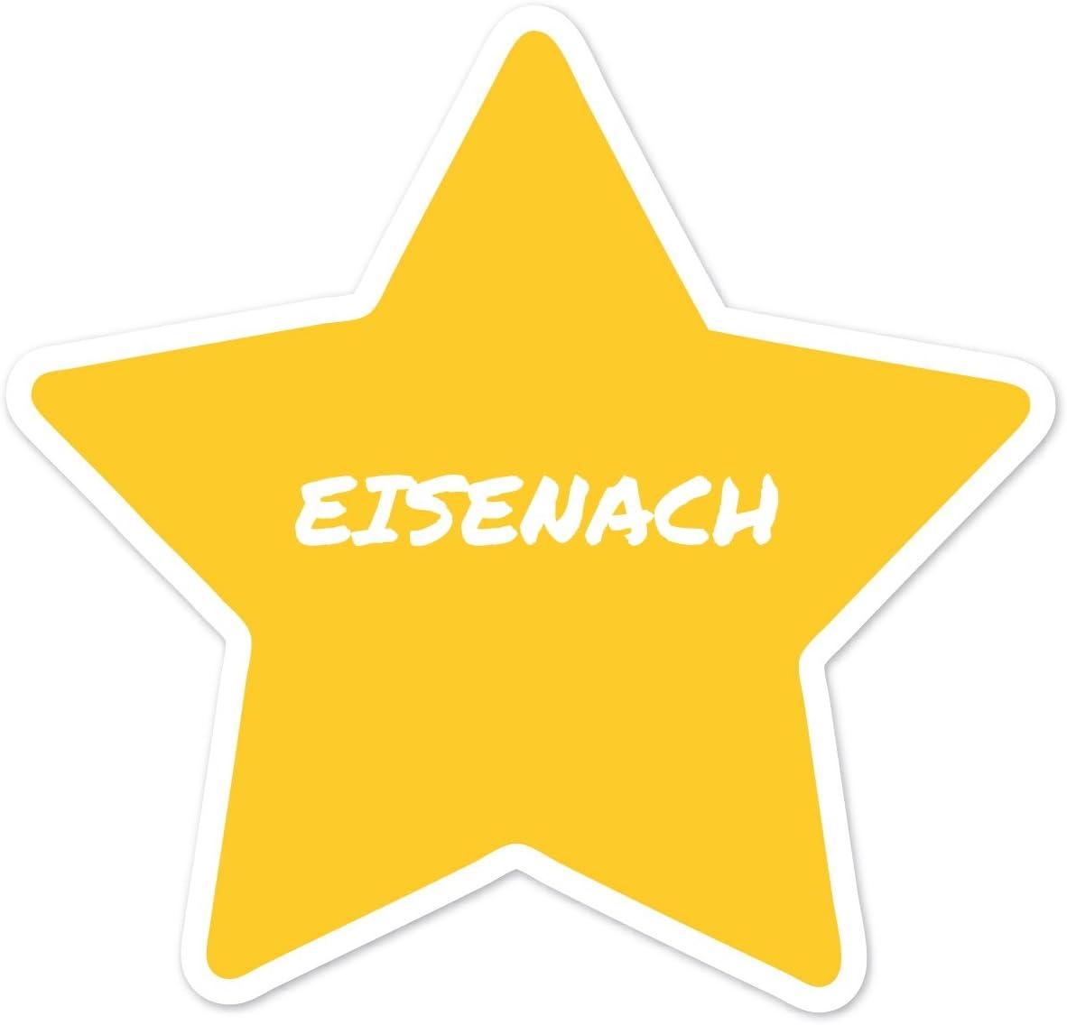 Design Eisenach Kleeblatt Farbe JOllify Aufkleber