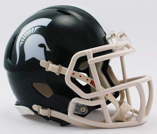 (NCAA Michigan State Spartans Speed Mini Helmet)