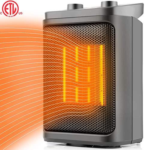 Space Heater Electric Heater Portable PTC Ceramic Heater wit