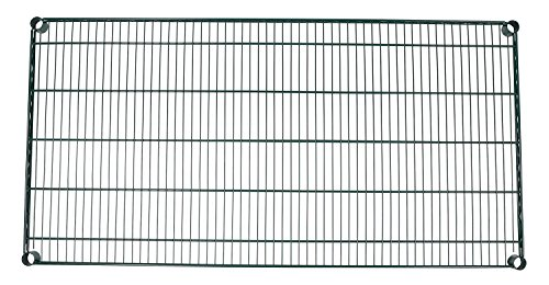48 Green Epoxy Wire Shelf (Apollo Hardware Green Epoxy Wire Shelves(Individual Wire Shelves) (24