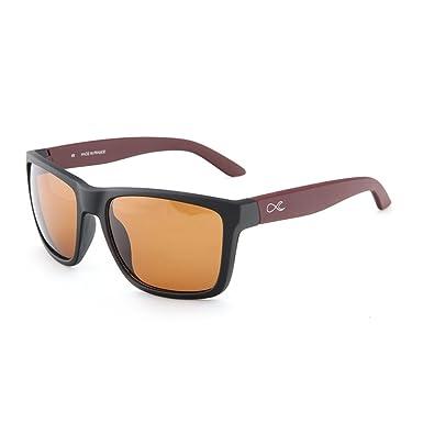 FULLSENSATIONS ® - Gafas de sol - para hombre marrón: Amazon ...