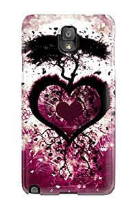 Alex D. Ulrich's Shop Discount First-class Case Cover For Galaxy Note 3 Dual Protection Cover Heart Love Tree