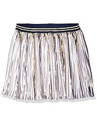 Tommy Hilfiger girls Big Girls Metallic Pleated Skirt