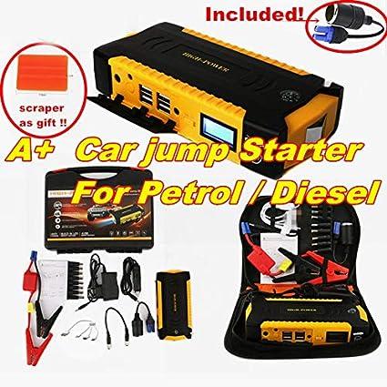 Aliaoforz Super Power Car Jump Starter Power Bank 600A ...