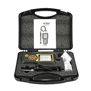 Misuratore pH e Tester, HT-1202 Tester di qualità dell'acqua digitale ad alta precisione, pH mV Tester, Misuratore di… 51W7EcP7TYL. SS300