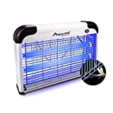 Aspectek Upgraded 20W Electronic Bug Zap Insect Mosquito, Fly, Moth, Wasp, Beetle & Other pests Killer Indoor Residential & Commercial, White