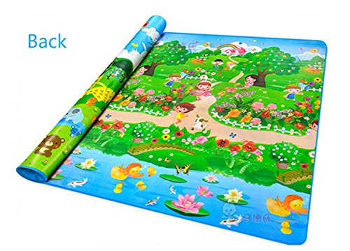 Baby Playing Mat Ocean Animal Crawling Floor Pad with Carring Bag [US Stock] (2) by Rateim (Image #3)