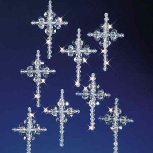 Beaded Cross Craft (Crystal Cross Beaded Ornaments Beaded Craft Kit Kit)