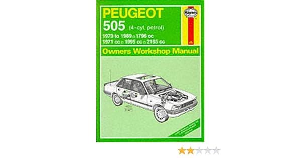 peugeot 505 petrol 1979 89 owner s workshop manual service rh amazon com eBay Peugeot 505 504 Partes eBay Peugeot 505 504 Partes