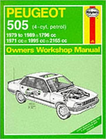 Peugeot 505 (Petrol) 1979-89 Owners Workshop Manual (Service & Repair Manuals): A.K. Legg: 9780856967627: Amazon.com: Books