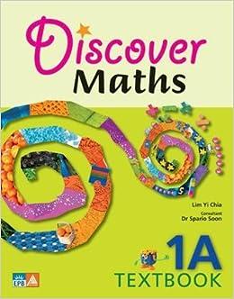 Book Discover Maths Student Textbook Grade 1A