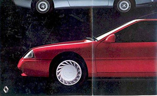 1985 Renault Alpine V6 & Turbo Sales Brochure French