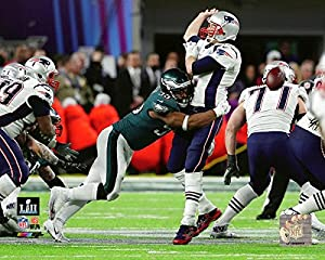 Philadelphia Eagles Brandon Graham Strips The Ball During Super Bowl 52 8x10 Photo, Picture