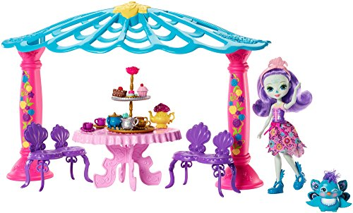 Enchantimals Garden Gazebo Playset + Patter Peacock Doll & Flap Figure