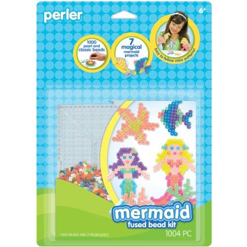 Perler Beads Fused Bead Mermaid
