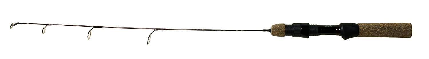 24-Inch Wright /& McGill Tony Roach Ice Large Fishing Rod Brown