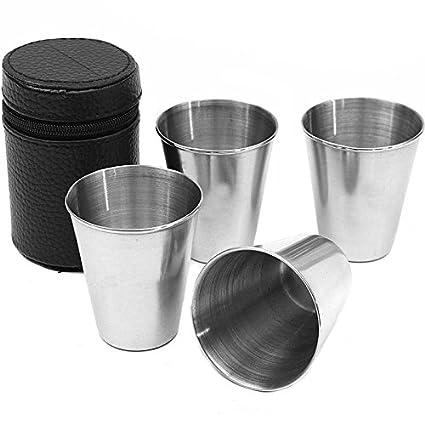 asdomo 4 pcs/juegos 75 ml - vasos de vino taza de agua de ...