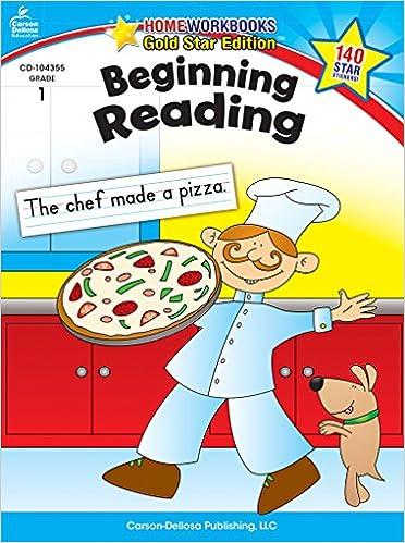 Beginning Reading, Grade 1: Gold Star Edition (Home Workbooks ...