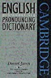 English Pronouncing Dictionary, Daniel Jones, 0521459036