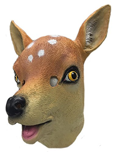 [Animal masks Bambi] (Deer Deluxe Latex Mask)