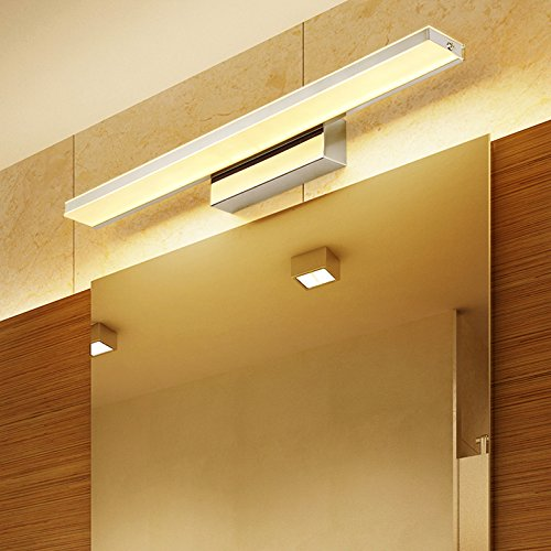LUMINTURS 9W LED Acrylic Wall Sconce Light Fixture Makeup Mirror Lamp SMD 2835 Washroom Hotel Warm White