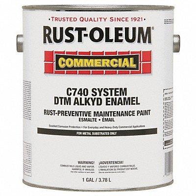 Rust-Oleum 1 GAL 400 VOC DTM Alkyd Safety Yellow