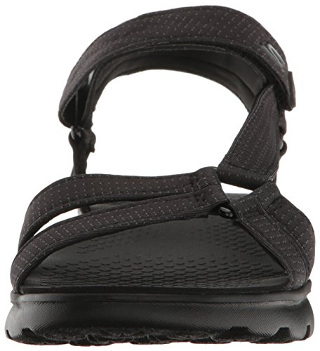 The Go Skechers Black Women's Radiance Flip On Performance 400 Flop qItRftTw