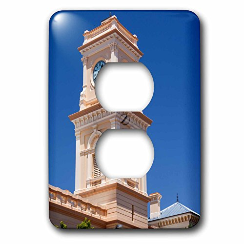 Danita Delimont - Australia - Australia, Goulburn, post office tower - Light Switch Covers - 2 plug outlet cover (lsp_226385_6) (Office Tower Post)