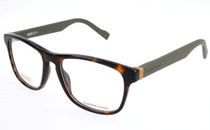 vast selection latest fashion good service Hugo Boss Orange Rx Eyeglasses - 0180 0K8B - Havana Military Green  (53/17/140)