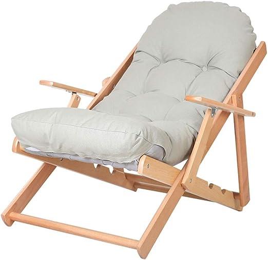 silla madera con lunares