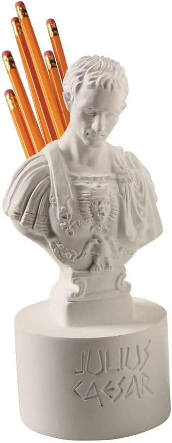 Ides of March Pen and Pencil Holder - Julius Caesar Office Desk Accessory
