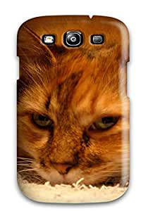 Mary P. Sanders's Shop Hot Premium Durable Rare Cat Fashion Tpu Galaxy S3 Protective Case Cover 5912475K69934900