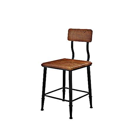 Sedie In Ferro Battuto E Legno.Qingpingguo Qpg American Country Retro Old Cafe Tavoli E