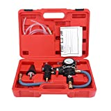 Acouto Coolant Refill Tool,Car Radiator Coolant System Vacuum Purge & Coolant Refill Tool Kit Water Antifreeze Changer