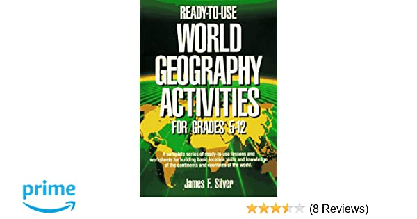 Amazon com: Ready-To-Use World Geography Activities for