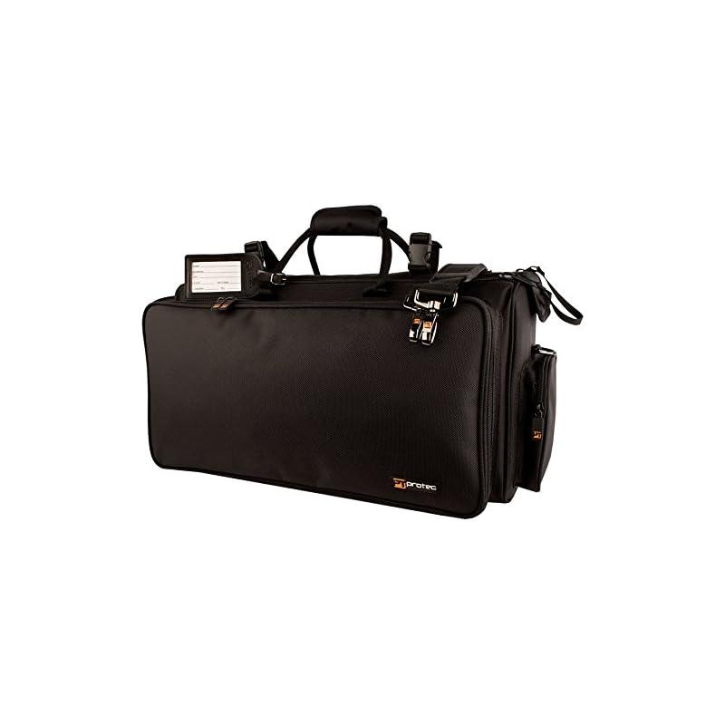 Protec Triple Horn Gig Bag with Removabl