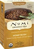 From South Africa, our organic honey bush is a flowering shrub that yields a rich earthy brew with sweet honey overtones. This secret healer is rich in antioxidants. About Numi: Numi is a labor of love by a brother and sister. She is the arti...